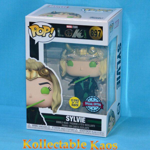 Loki - Sylvie Glow in the Dark Pop! Vinyl Figure