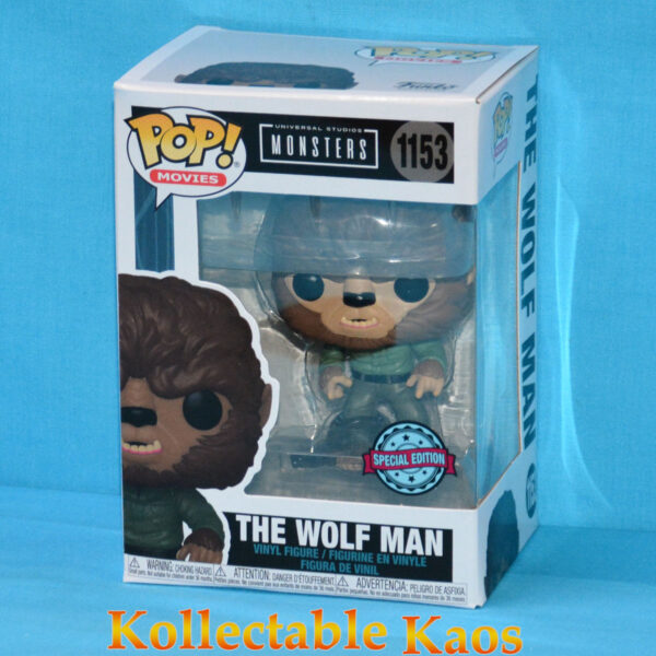The Wolf Man (1941) - Wolf Man Pop! Vinyl Figure