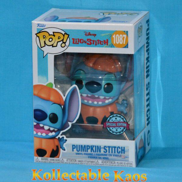 Lilo & Stitch - Pumpkin Stitch Pop! Vinyl Figure