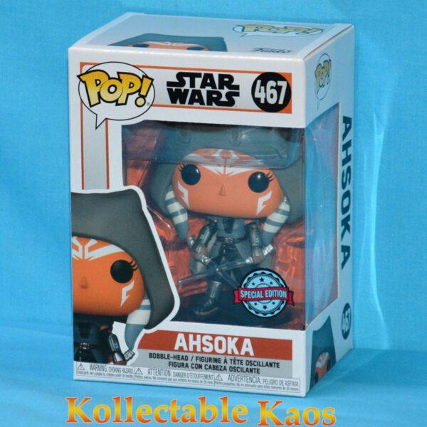 Star Wars: The Mandalorian - Ahsoka Hooded Pop! Vinyl Figure