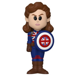What If - Captain Carter Vinyl SODA Figure in Collector Can