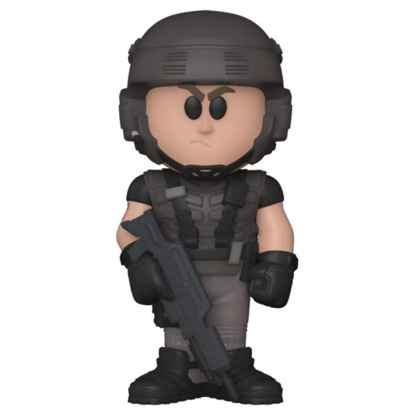 Starship Troopers - Johnny Rico Vinyl SODA Figure in Collector Can