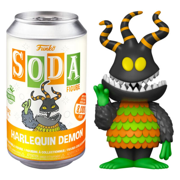 The Nightmare Before Christmas - Harlequin Demon Vinyl SODA Figure in Collector Can