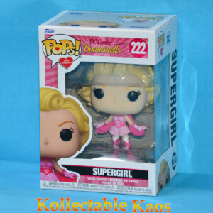 DC Comics Bombshells - Supergirl Breast Cancer Awareness Pop! Vinyl Figure