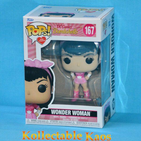 DC Comics Bombshells - Wonder Woman Breast Cancer Awareness Pop! Vinyl Figure