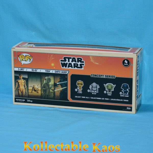 Star Wars - Ralph McQuarrie Concept Series Pop! Vinyl Figure 4-Pack