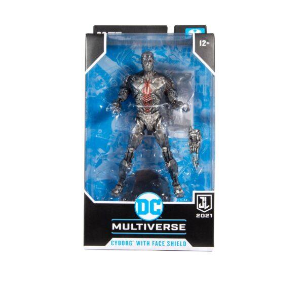 "DC Multiverse - Justice League Movie - Cyborg Face Shield 7"" Scale Action Figure"