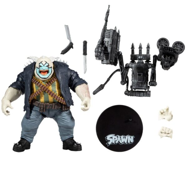 """Spawn - The Clown 7"""" Deluxe Action Figure"""