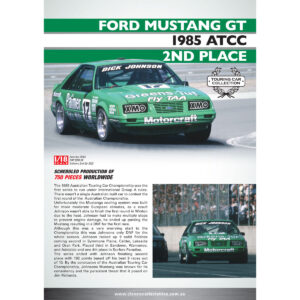 1:18 1985 ATCC 2nd Place - Ford Mustang GT - Dick Johnson