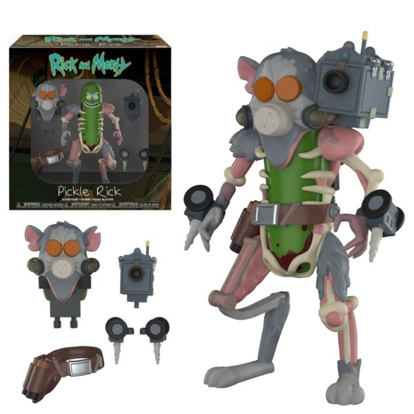 """Rick and Morty - Pickle Rick 13cm(5"""") Action Figure"""