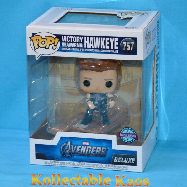 The Avengers – Hawkeye Victory Shawarma Diorama Deluxe Pop! Vinyl Figure