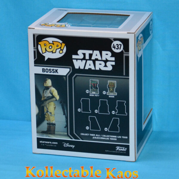 Star Wars - Bossk Bounty Hunters Diorama Deluxe Pop! Vinyl Figure
