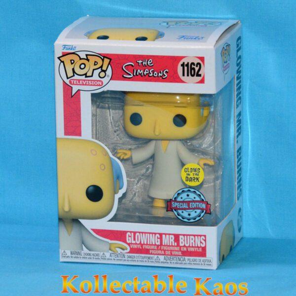 Simpsons - Mr Burns Radioactive Glow in the Dark Pop! Vinyl Figure