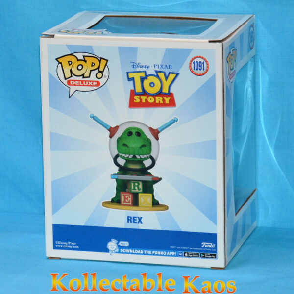 Toy Story - Rex with Controller Deluxe Pop! Vinyl Figure