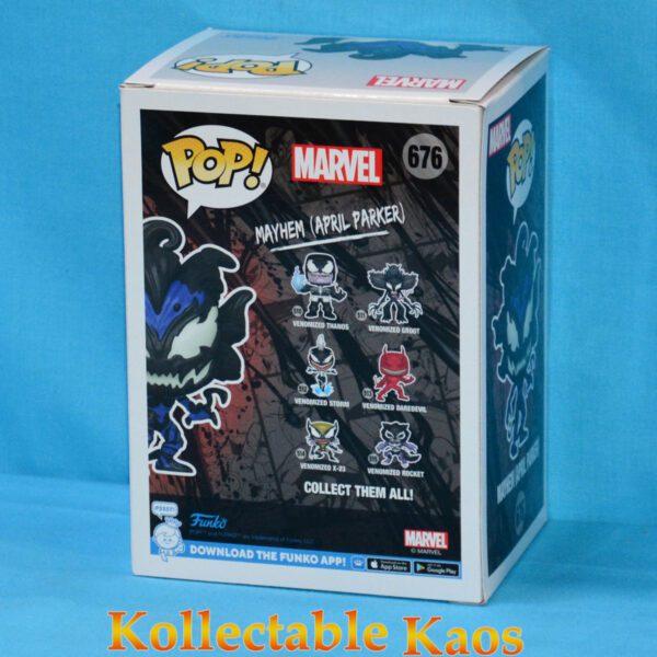Spider-Man - April Parker Mayhem Glow in the Dark Pop! Vinyl Figure