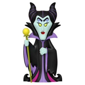 Sleeping Beauty - Maleficent Vinyl SODA Figure in Collector Can