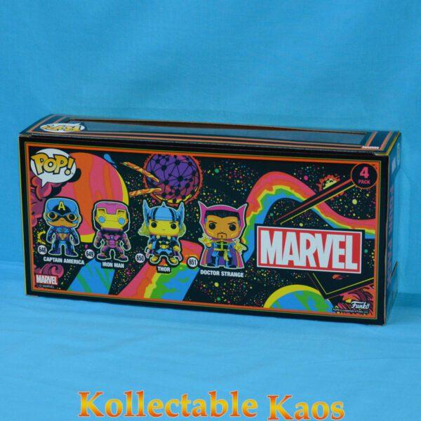 Marvel Comics - Black Light Pop! Vinyl Figure (RS) 4-Pack