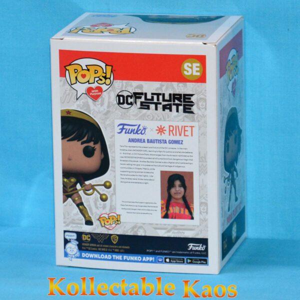 Wonder Woman - Yara Flor Pop! With Purpose Pop! Vinyl Figure