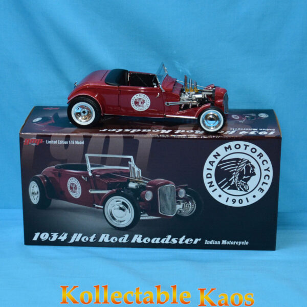 1:18 GMP - 1934 Hot Rod Roadster Indian Motorcycle Since 1901