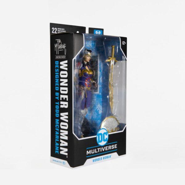 "DC Multiverse - Wonder Woman by Todd McFarlane 7"" Action Figure"