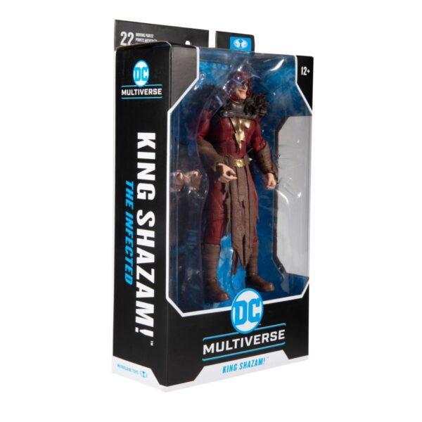 """DC Multiverse - Shazam - King Shazam Infected 7"""" Action Figure"""