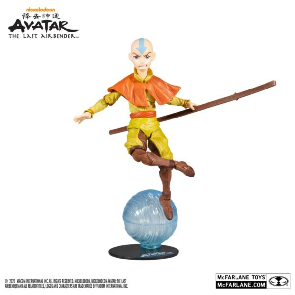 """Avatar: The Last Airbender - Aang 7"""" Scale Action Figure"""