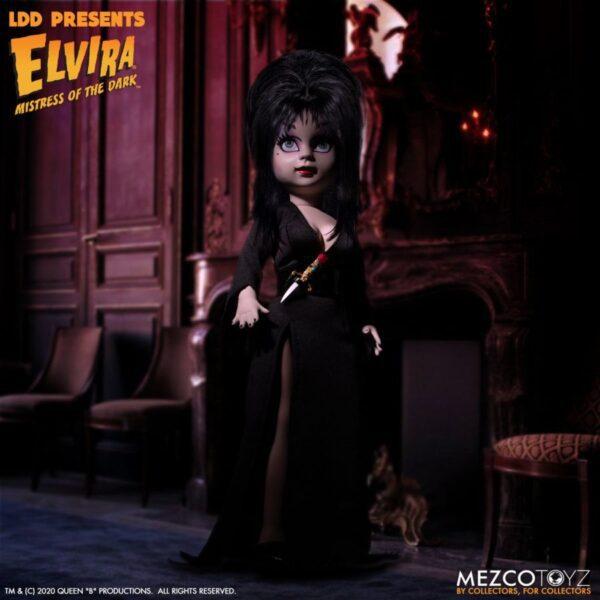 """LDD Presents - Elvira Mistress of the Dark 25cm(10"""") Living Dead Doll"""