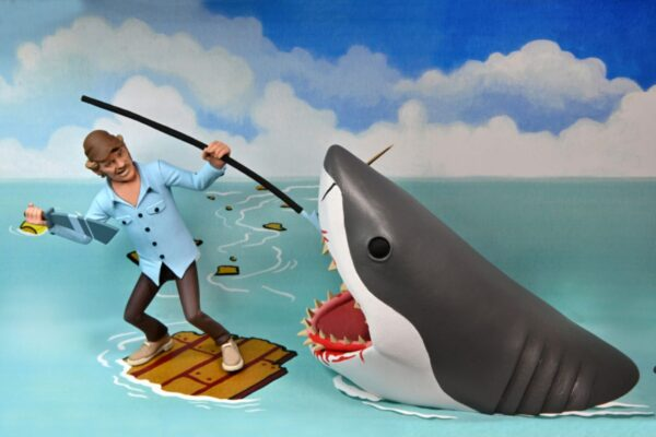 """Toony Terrors - Jaws & Quint 6"""" Scale Action Figure 2-Pack"""