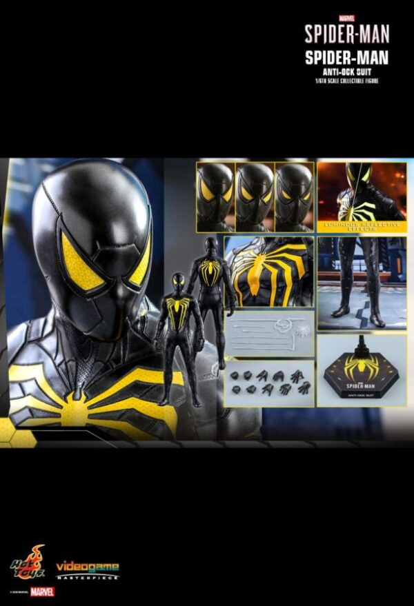 """Spider-Man (VG2019) - Anti-Ock Suit 1:6 Scale 12"""" Hot Toys Action Figure"""